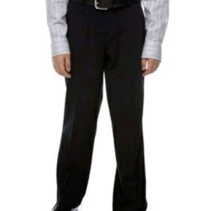 New CALVIN KLEIN Boy's Black Pants Casual Size 14